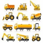 Construction Vehicles Vector Pack