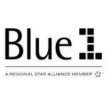 Blue1 Airline Logo
