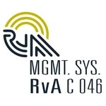 RvA QMS/EMS Certification Logo