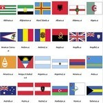 World Flags Set – AI Format