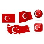 Turkey Symbols Collection [Türkiye Bayrakları – EPS File]