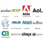 Computer Logos (Service, Software, Hardware, Storage Device)