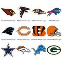 NFL Team Logos (National Football League – 33 Logo)