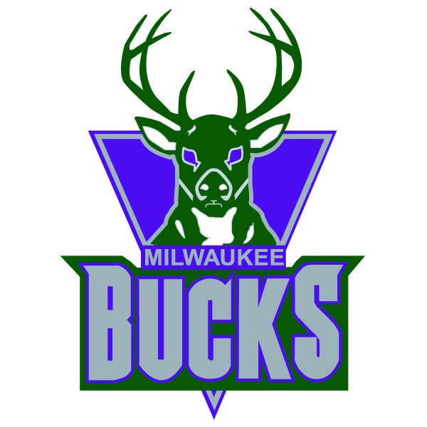 nba milwaukee bucks logo