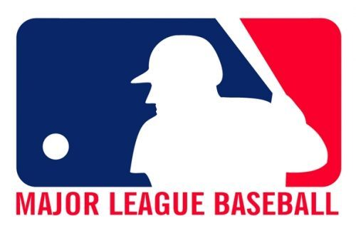 mlb major league baseball logo 500x317