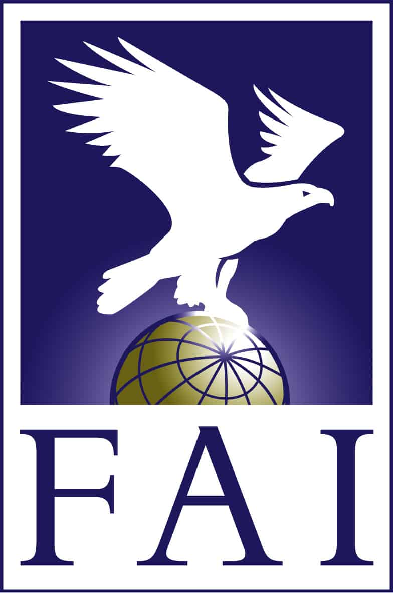 FAI Federation Aeronautique Internationale logo