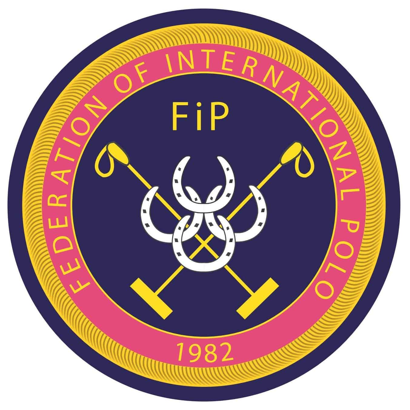 Federation of International Polo FIP logo
