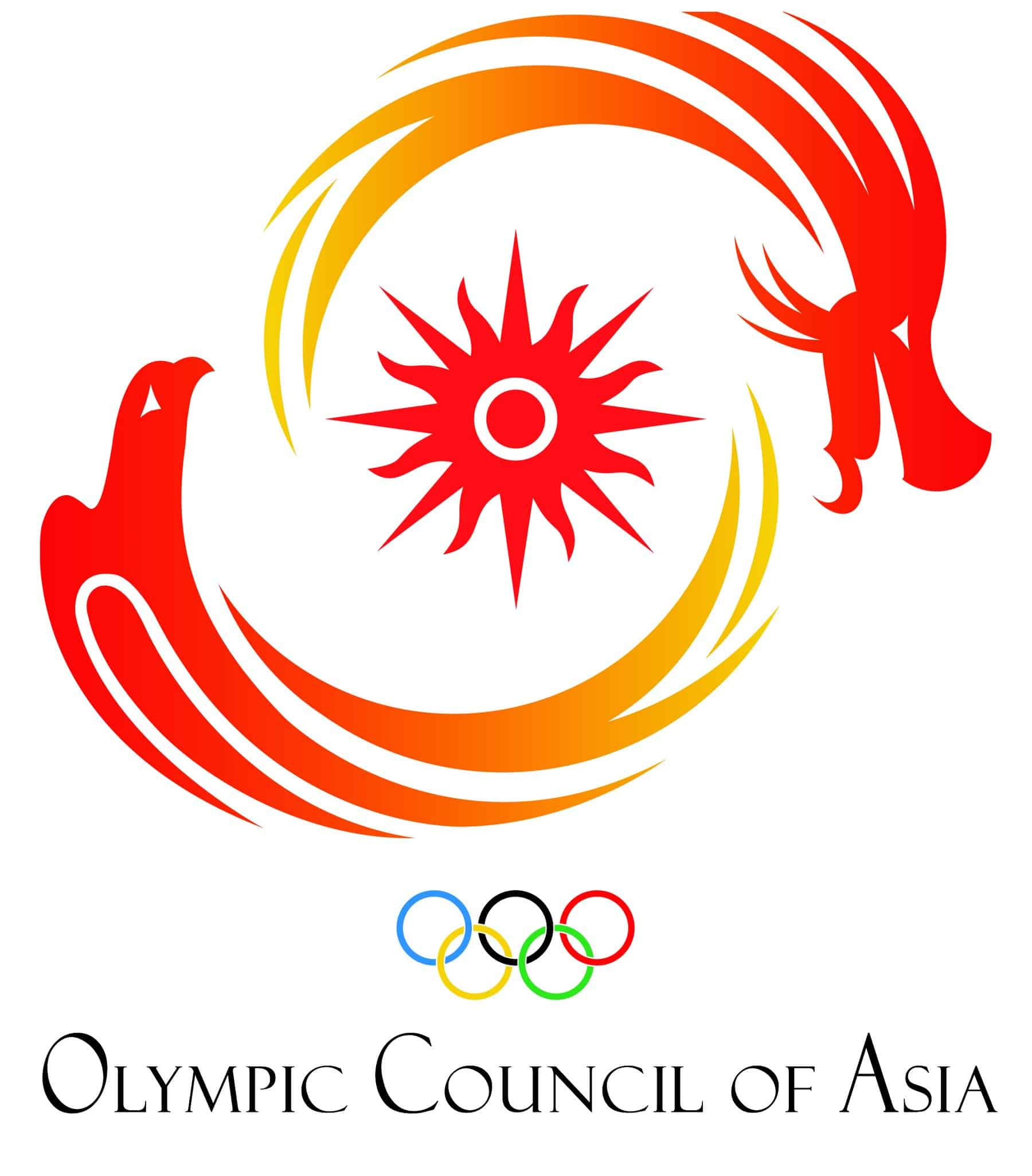 Olympic Council of Asia OCA logo