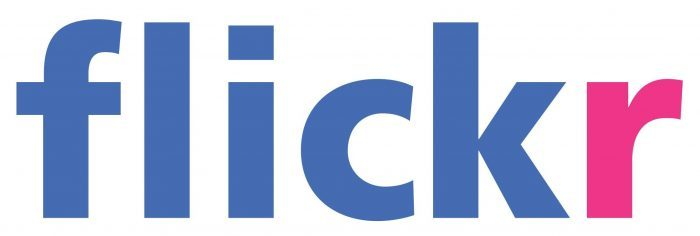 Flickr logo 700x236