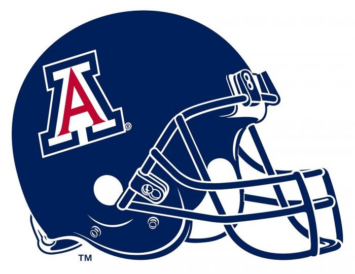 University of Arizona Football Helmet 700x540