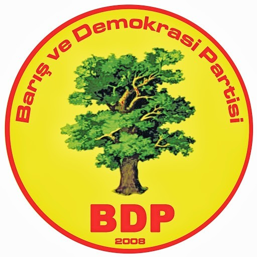 BDP Baris ve Demokrasi Partisi Logo