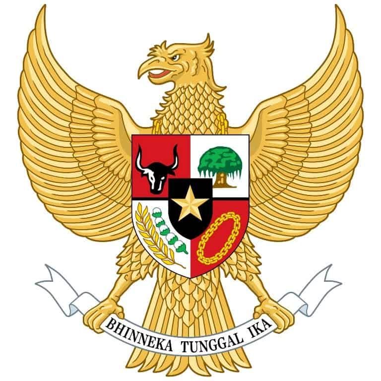 Garuda Pancasila National emblem of Indonesia