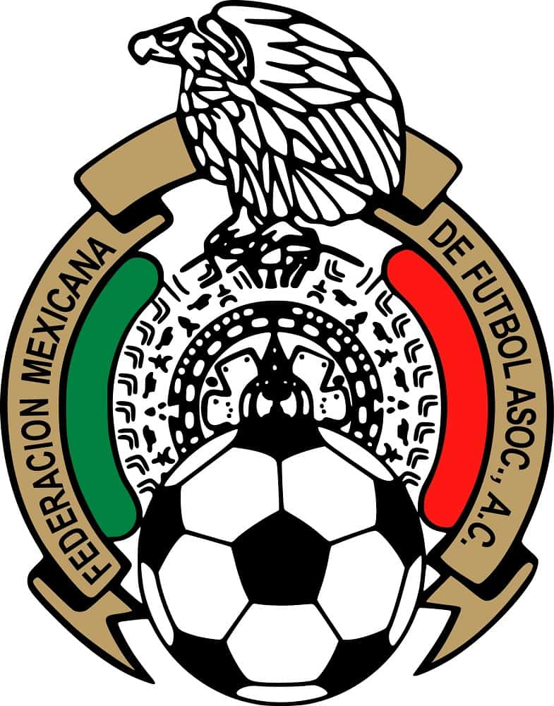 Mexico national football team and Federation of Association Football logo