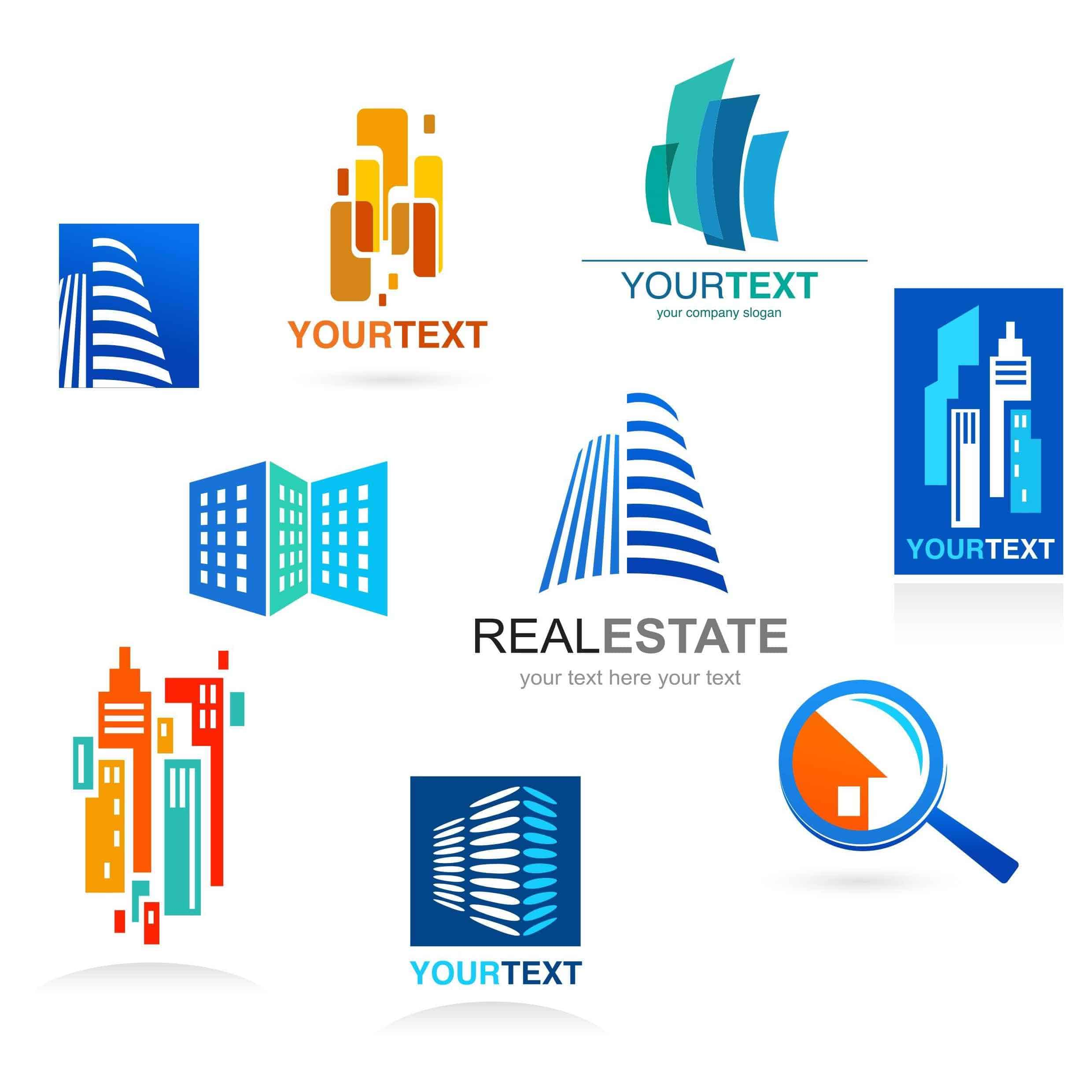 Real Estate Logo Template4