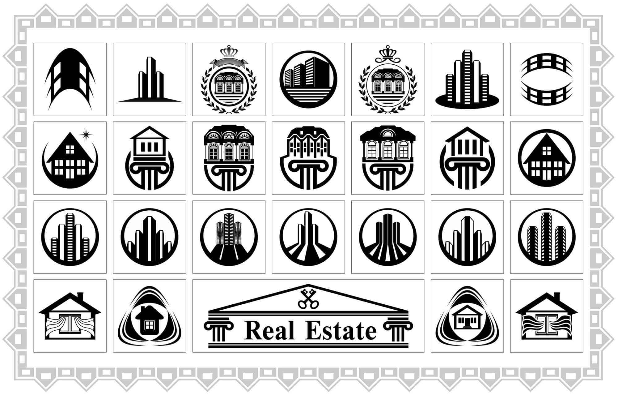 Real Estate Logo Template5