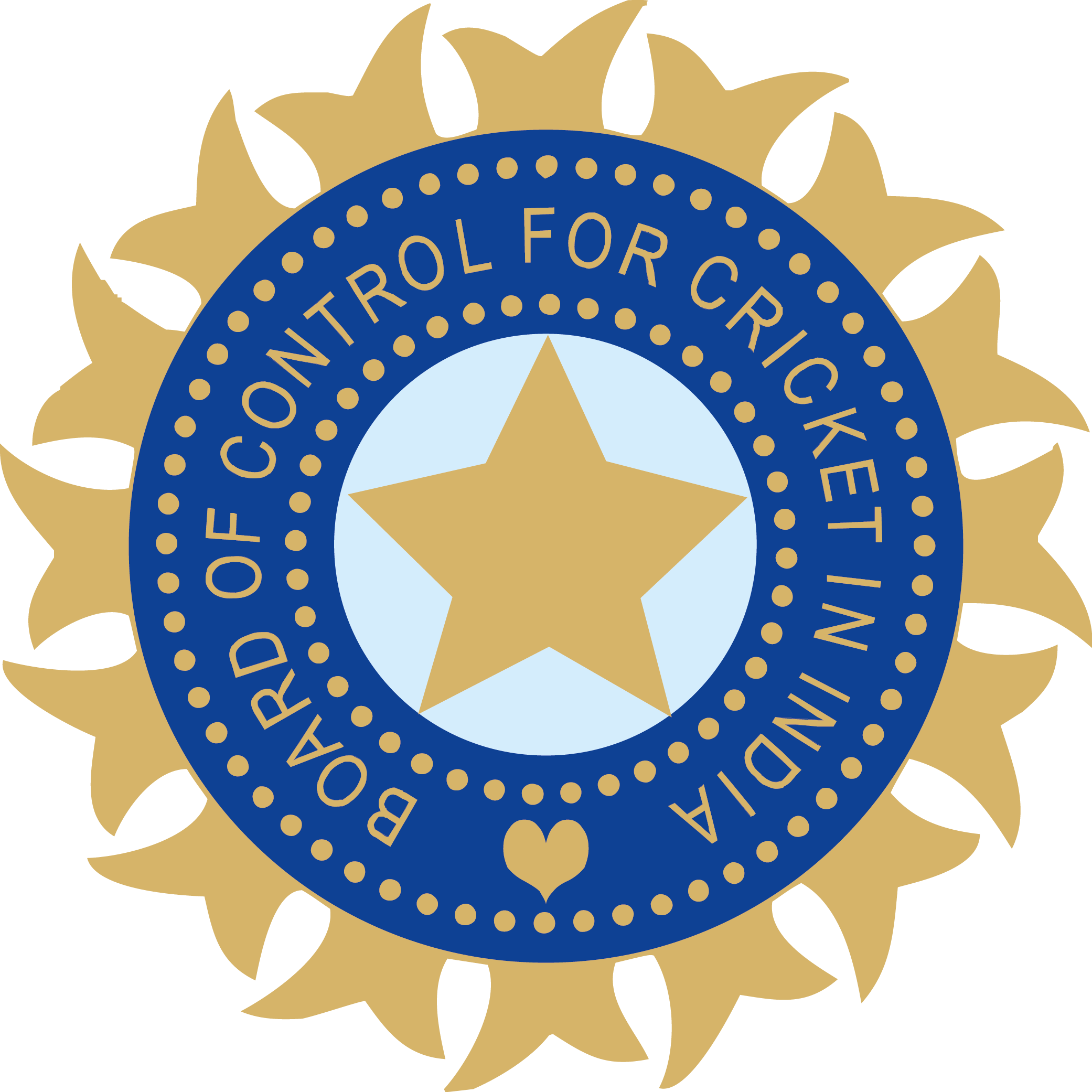 Board of Control for Cricket in India BCCI logo