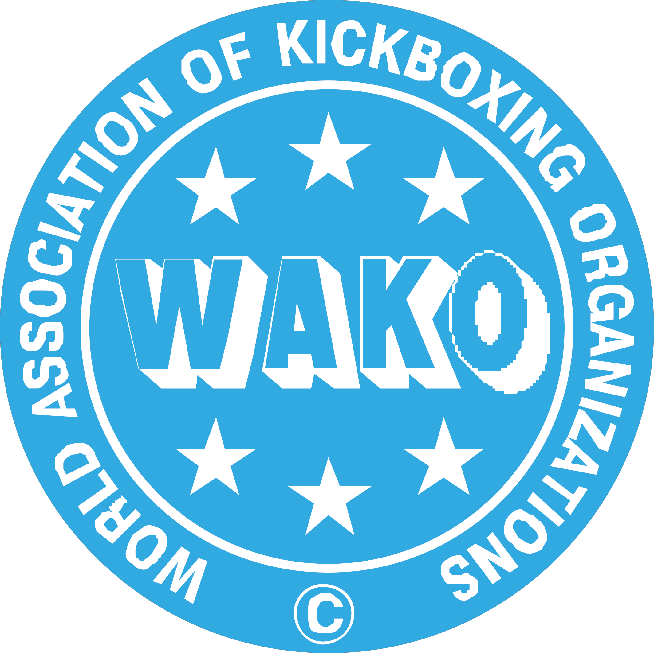 World Association of Kickboxing Organisations WAKO logo