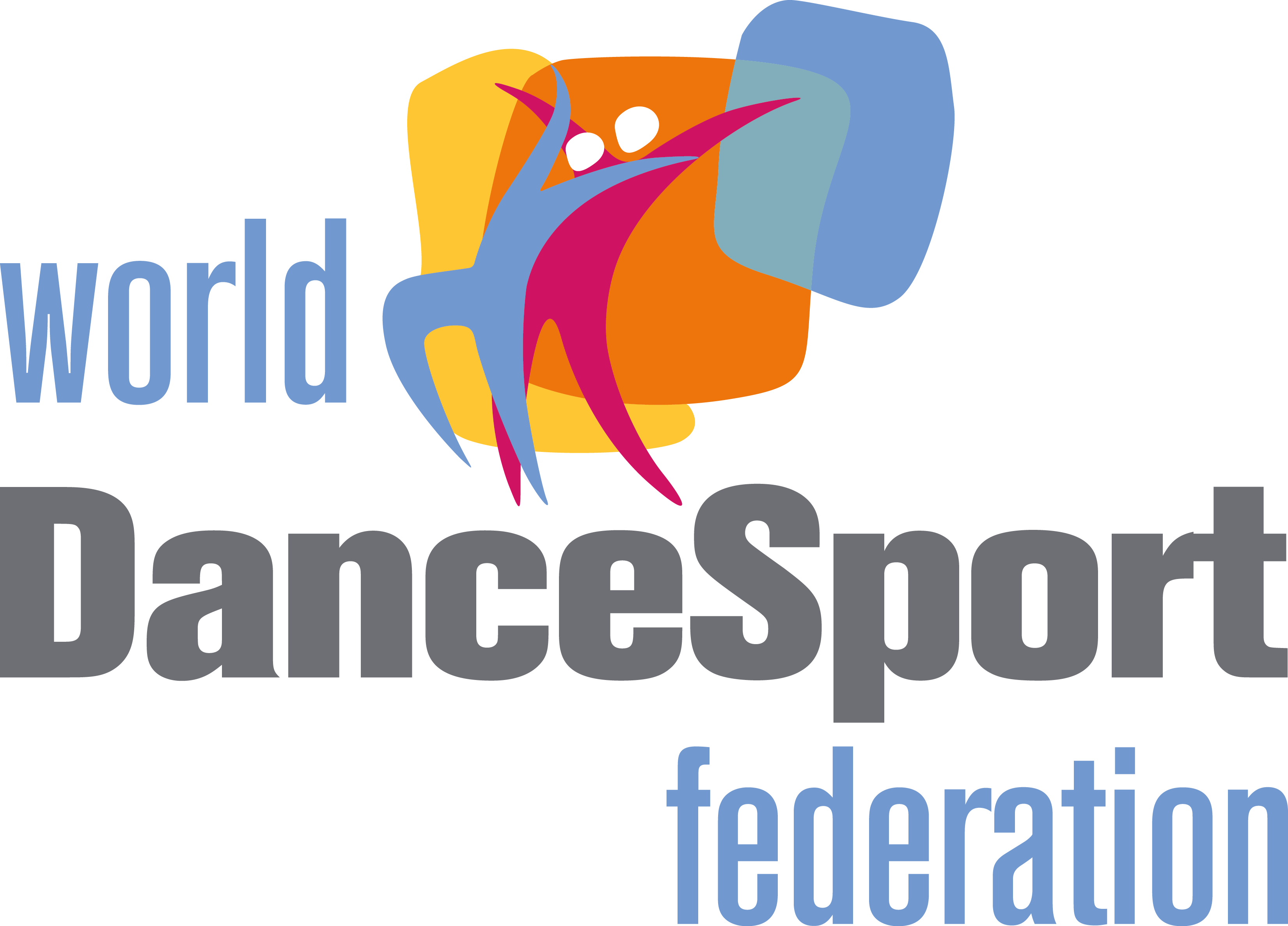 World DanceSport Federation WDSF logo