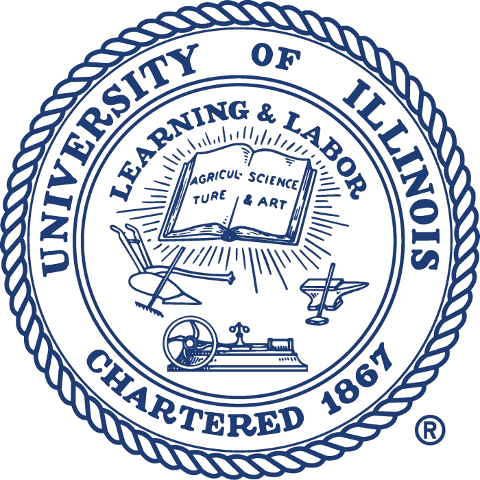 UIUC Seal University of Illinois at Urbana Champaign 700x700