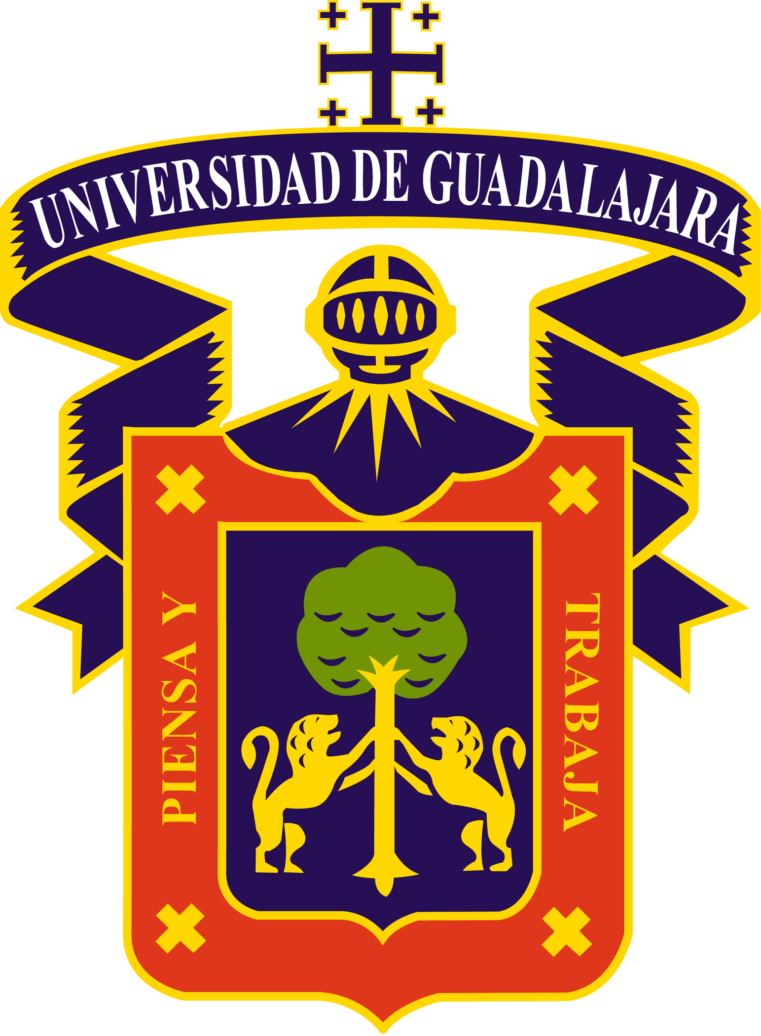 University of Guadalajara Logo logoeps.net
