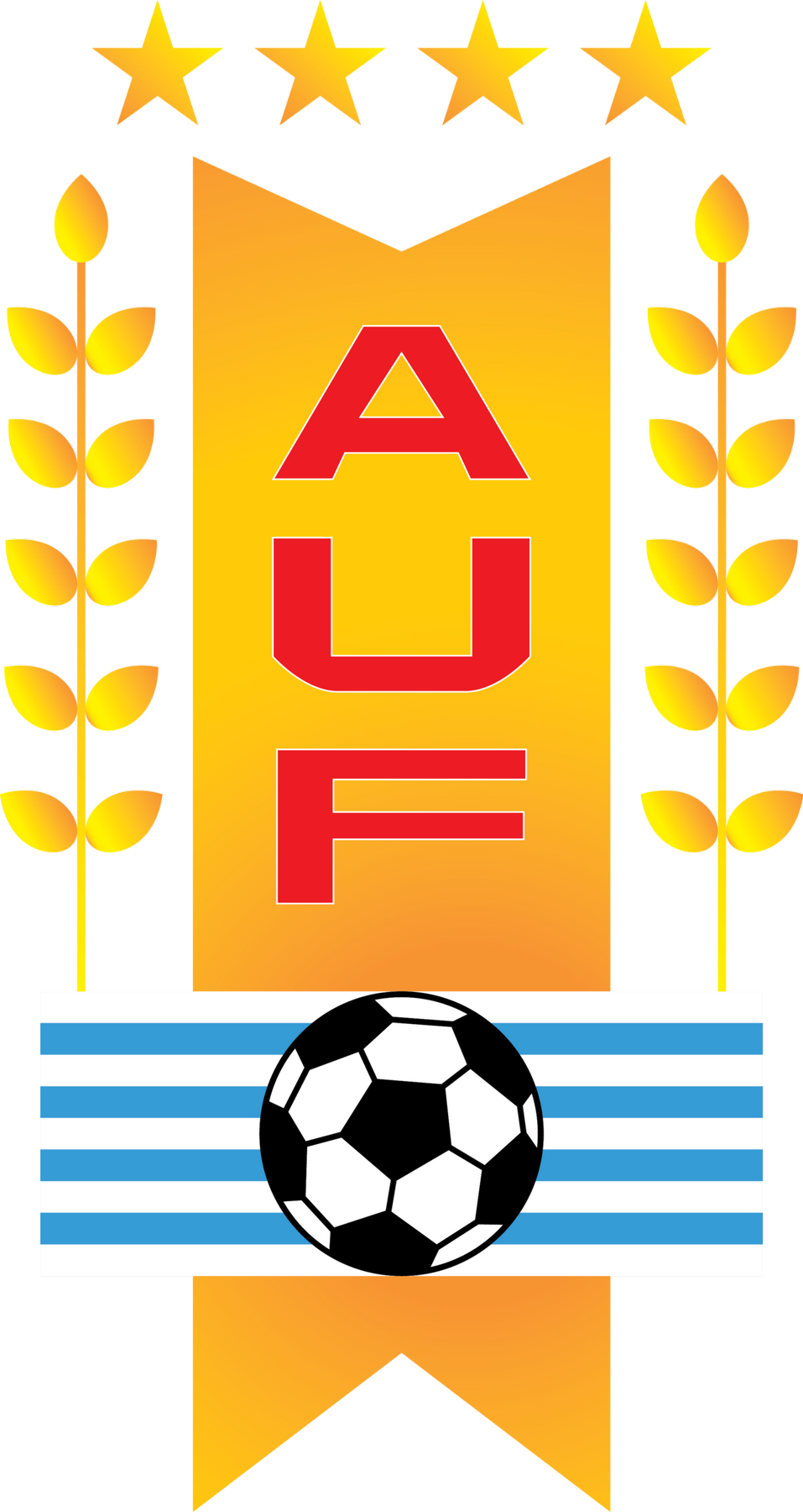 uruguay football association logo logoeps.net