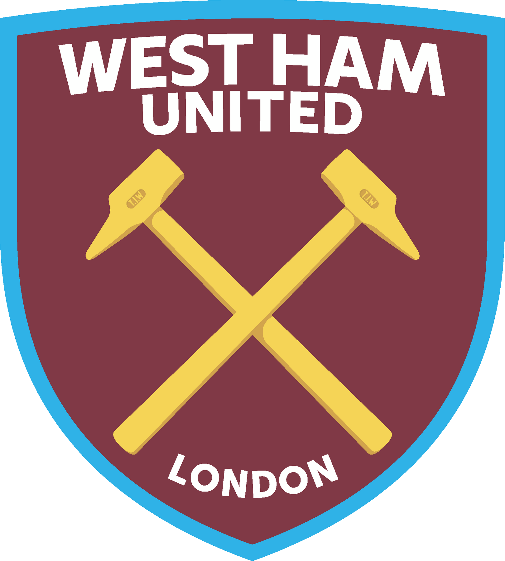 west ham united logo logoeps.net
